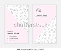 Standard Us Business Card Size Personal Card Stock Images Royalty Free Images U0026 Vectors
