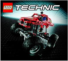 lego technic truck lego monster truck instructions 42005 technic