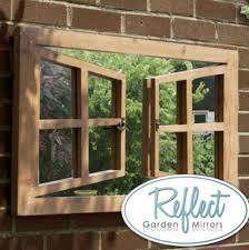 garden illusion mirror ebay