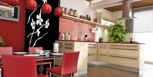 Red Kitchen Decor Ideas by Amazing Chinese Style Kitchen Decor With Red Color Scheme And
