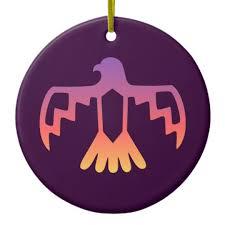 purple thunderbird ornament zazzle
