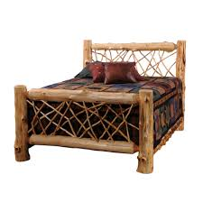 Log Bed Pictures by King Size Log Bed Furniture White Cedar Bedroom White