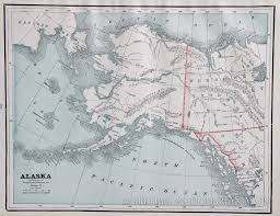Maps Of Alaska by Map Of Alaska 1887