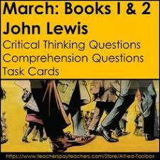 march book two march book one by lewis school levels course and