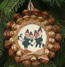 pinecone photo christmas ornament homemade christmas ornaments