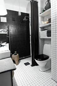 Black White Bathrooms Ideas Black And White Bathroom Tiles In A Small Bathroom 84 In Home