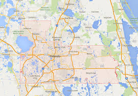 Florida Orlando Map by Map Of Orlando Area Orlando Area Map Florida Usa