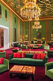 taj palace marrakech jade room lobby european style element u0026 线