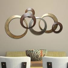 Stratton Home Decor Interlocking Circles Metal Wall Decor Free