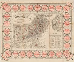 Maps Of Boston by Charming Guide Map Of Boston Rare U0026 Antique Maps