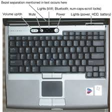how to turn on keyboard light dell where is the power button on the dell latitude d610 dell laptop