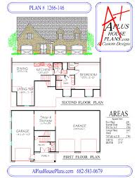 house plan 1266 146 a country cottage front elevation 1266 sqft
