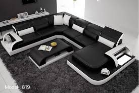 u shaped sofa modern u shape sofa 819 furniture