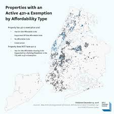 Nyu Map Mapping Affordable Housing Supported By The 421 A Tax Exemption