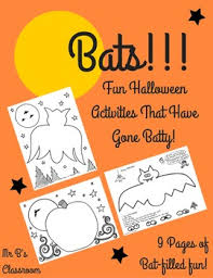 10 batty halloween activity pages coloring sheets u0027s