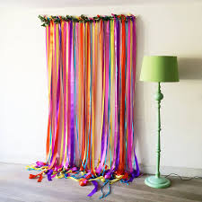 ribbon backdrop ribbon curtain backdrop decorate the house with beautiful curtains