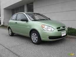 hyundai accent green 2008 apple green hyundai accent gs coupe 20239125 gtcarlot com