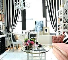 Grey White Striped Curtains Black And White Striped Curtains Pink And White Stripe