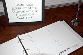 customizable guest books page refills for 3 ring books way to maintain your book