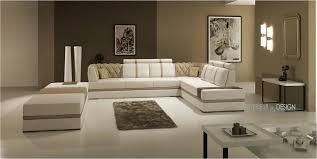 grand canapé angle canapé angle en cuir vachette blanc