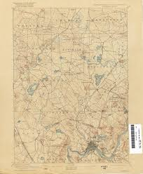 Nh Map New Hampshire Topographic Maps Perry Castañeda Map Collection