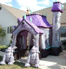 airblown inflatable haunted house with ghosts pictures to pin on