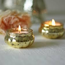 mercury tea light holders mini mercury gold floating tea light holders the wedding of my dreams