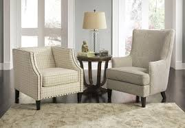Accent Chairs In Living Room Club Style Accent Chair With Nailhead Trim By Signature Design By