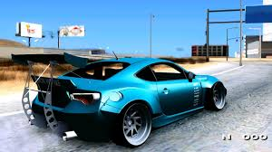frs scion modified scion frs rocket bunny killagram gta mod youtube
