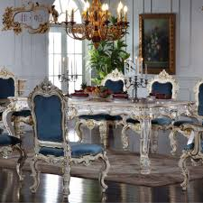 antique white dining table dining room stunning blue upholstered chairs and antique white