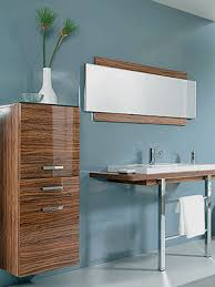bathroom decorating in blue brown colors chocolate inspiration