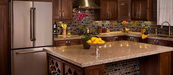 Tile For Kitchen Countertops by Granite Countertop Home Depot Unfinished Cabinets Kitchen