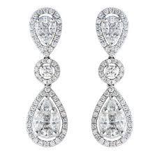 illusion earrings diamond rahmanim s imports