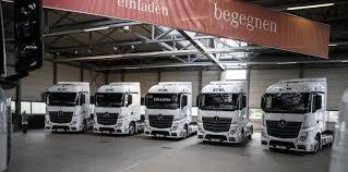 mercedes truck 2016 ekol increases its fleet in europe with 150 new mercedes trucks