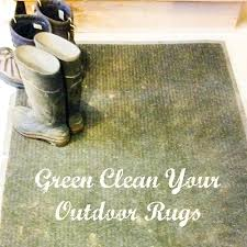 cleaning outdoor rugs how to clean outdoor rugs the naturally effective way green