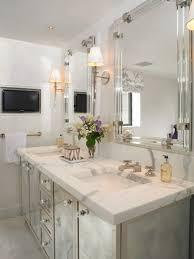 Mirrored Bathrooms Mirrored Bathroom Vanity Simplified Bee