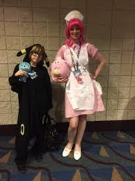 nurse joy at kami con 2017 cosplay amino