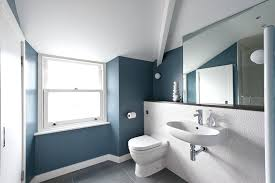 blue painted bathroom cabinets slate paint colors home design