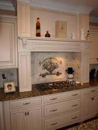 backsplashes wall medallions kitchen backsplash antique white