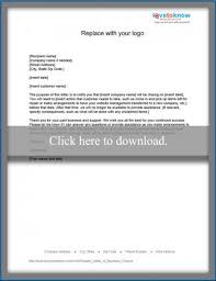 sample letter for closing a business lovetoknow