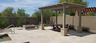 Shade Ideas For Backyard Scottsdale Phoenix Patio Covers Pergolas U0026 Ramadas Portfolio