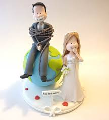 Funny Wedding Cake Toppers Wedding Cake Topper Kikuike Handmade Studio Best Images About