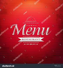 background for halloween menu red menu background gradient mesh vector stock vector 155816135