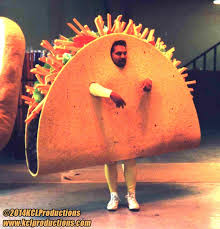 Taco Costume Mascot Of The Day U2026 The Taco That Never Made It To Burgerking Kcl