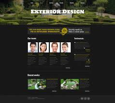 free website template exterior design