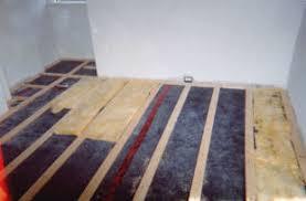 floor barrier materials sound transfer from floor to floor