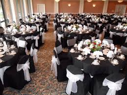 Paper Chair Covers Dining Room White Tablecloths Black Runner Napkins Chair Covers