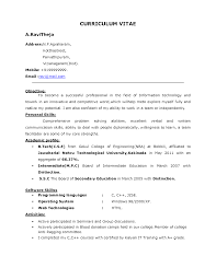 Academic Resume Templates 100 Sample Academic Resume There Are Two Types Of Biotech