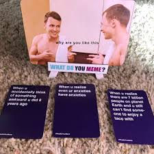 Meme Board Game - meme card game anacondas ate my wallet