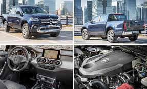 mercedes pick up 2018 mercedes benz x class pickup first drive review car and driver